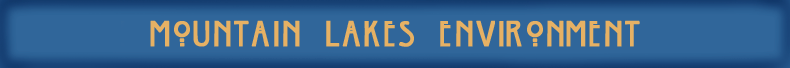 Mountain Lakes Environment banner