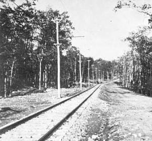 1910 View of the Boulevard looking toward Boonton