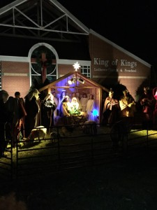 Outdoor Live Nativity @ KING OF KINGS LUTHERAN CHURCH | Mountain Lakes | New Jersey | United States
