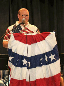 John Pareti – MLHS Alumni and Resident – Dedication of Memorial Bench
