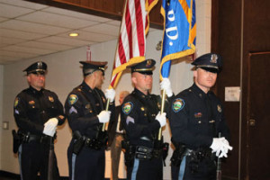 Presentation of Color – ML Police Department all four are also Veterans