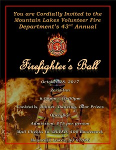MLVFD Firefighter's Ball @ Zeris Inn | Mountain Lakes | New Jersey | United States