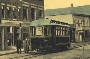 Trolley on Main St.