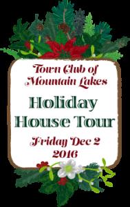 Town Club of Mountain Lakes Holiday House Tour @ Various Homes in Mountain Lakes