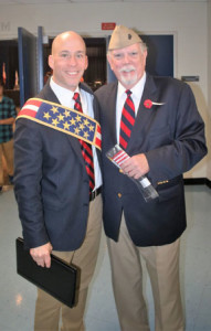 Mayor Holmberg and Memorial Day Committee Chair, Vince Dougherty