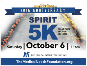 20th Anniversary Spirit 5K for The Medical Needs Foundation