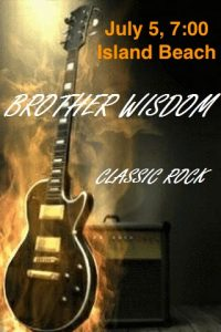 Brother Wisdom Band Concert @ Island Beach