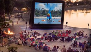 Kids Outdoor Movie Night on the Beach! @ Island Beach