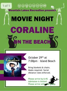 Scary Movie Night on the Beach